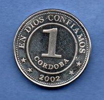 Nicaragua  - 1 Cordoba 2002 -   Km # 101 -  état  SPL - Nicaragua
