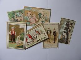 Lot De 10 Chromos CHOCOLATS DIVERS (Guérin-Boutron,Ibled,FélixPotin,Rolandey à Rouen,etc...) - Autres