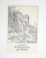 Ex-libris Moderne XXème Illustré -  Allemagne - Edith Knetsch Geb. Müller - Ex Libris