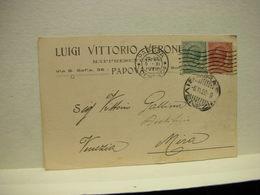 PADOVA ---  LUIGI  VITTORIO    VERONESE  - RAPPRESENTANTE - Padova (Padua)