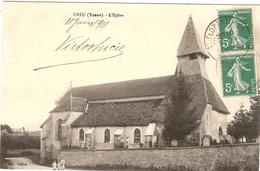 CPA Cheu L'Eglise 89 Yonne - Altri Comuni