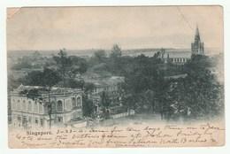SINGAPORE / SINGAPOUR - CPA Verso Non Divisé - Voyagé En 1904 Avec TIMBRE - Singapur