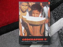 """Géographie """"Classe De 5e"""" (R. Froment Et J. Bienfait) éditions Bordas De 1962 - Books, Magazines, Comics"""