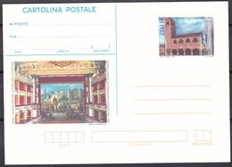 ITALIA REPUBBLICA CARTOLINA POSTALE  TEATRO DELLA FORTUNA FANO  ANNO 1998 - 6. 1946-.. Repubblica