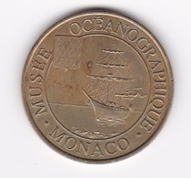 MDP Monnaie De Paris Musée Océanographique Monaco 98MOC1/98 1998  Jeton Médaille - Monnaie De Paris