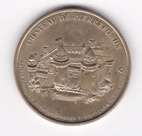 MDP Monnaie De Paris Chateau De Pierrefonds N°1 60PIE1/98 1998  Jeton Médaille - Non-datés