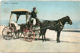 MALTA - Attelage Cheval - Fourwheeler  (104642) - Malte