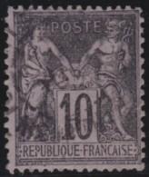 France  .      Yvert    .       103       .     O    .     Oblitéré - 1898-1900 Sage (Type III)