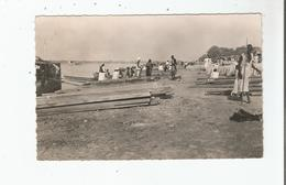 FORT LAMY (TCHAD . A E F ) 9  CARTE PHOTO LE PORT FLUVIAL DE LAMY - Tchad