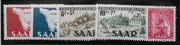 Sarre N°248/252 - Neuf ** Sans Charnière - Superbe - Sarre