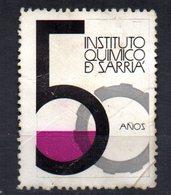 Viñeta Instituto Quimico De Sarria. - Otros