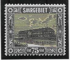 Sarre N°96 - Neuf * Avec Charnière - TB - Sarre