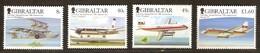 Gibraltar 2006 Yvertnr 1175-1178 *** MNH  Cote 13,00 Euro  Avions Vliegtuigen Airplanes - Gibilterra