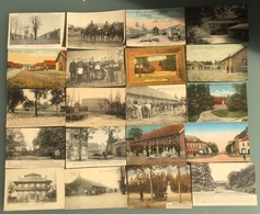 Bourg Léopold - Camp De Beverloo - Lot 106 Cartes Animée, Colorisée, Canon, Cavaliers, Chevaux,...carte Photo, Militaria - Leopoldsburg (Kamp Van Beverloo)