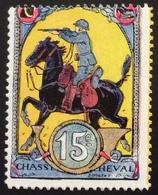 VCH11 15ème Régiment De Chasseurs à Cheval   Delandre - Vignettes Militaires