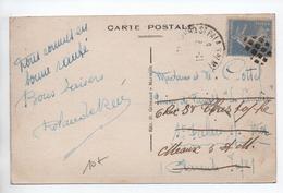 CARTE Pour SAINT PALAIS SUR MER (CHARENTE MARITIME) Avec OBLITERATION BOUCHON GROS POINTS Sur SEMEUSE - Marcophilie (Lettres)