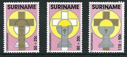 SURINAME MNH - 1988 Easter - Pasqua - Vari Cent - Michel SR 1261 1263 - Suriname