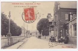 Eure - Port-Mort - Grande Route, Près L'église - Café De La Mairie - A. Garnier - Autres Communes