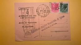 1964 AVVISO DI RICEVIMENTO E PAGAMENTO RICEVUTA BOLLO SIRACUSANA 12 E 13 LIRE - 1961-70: Storia Postale