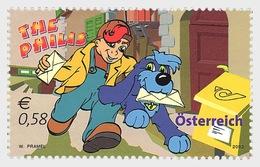 """Austria 2002 Set - Sisco Und Mauritius - Series """"Philis"""" - 1945-.... 2nd Republic"""