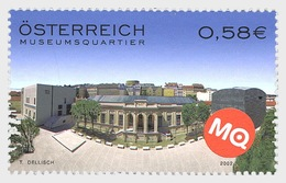 Austria 2002 Set - Museumsquartier - 1945-.... 2nd Republic