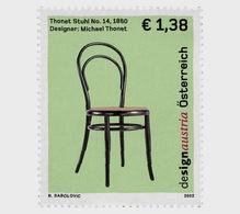 Austria 2002 Set - Design Austria - Chair - 1945-.... 2nd Republic