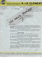 Luxembourg - LUXEMBOURG - Facture CLEMENT - Scierie - Bois Et Matériaux - 1937 - REF 89F - Lussemburgo