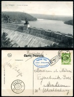 CP   La Gi!leppe   ---  Mur Du Barrage  --  1906 - Gileppe (Stuwdam)