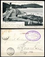 CP   La Gi!leppe   ---  Vue Du Barrage  --  Animé  --  1902 - Gileppe (Stuwdam)