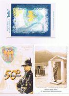 50simo Brigata Alpina Julia - Udine 1999 - Busta + 6 Cartoline Affrancate - Reggimenti