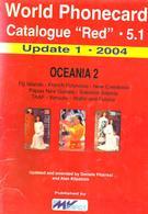 SOUTH PACIFIC TELEPHONE PHONECARD CATALOGUE VOL5.1 2004 INC.FIJI-FRENCH POLINESIA-NEW CALEDONIA ETC. READ DESCRIPTION !! - Phonecards