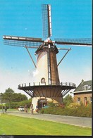 OLANDA - DE ZANDWEG - MULINO A VENTO - VIAGGIATA 1982 FRANCOBOLLO ASPORTATO - Rotterdam