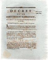 Contenant Les Dispositions Relatives à L'acte De Navigation.12 Pages..1793-94 - Decreti & Leggi