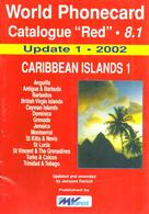 CARIBBEAN TELEPHONE PHONECARD CATALOGUE VOL8.1 UPDATE 2002 READ DESCRIPTION !! - Phonecards