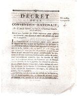 Relatif Aux Jugemens Sur Délits Emportant Peine Afflictive Ou Infamente.3 Pages..1793-94.ABBEVILLE. - Decreti & Leggi