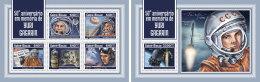 GUINEA BISSAU 2018 MNH** Yuri Gagarin Space Raumfahrt Espace M/S+S/S - OFFICIAL ISSUE - DH1814 - Space