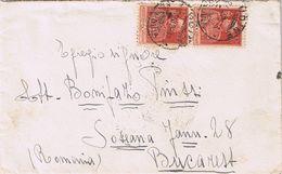 Busta Udine -> Bucarest Viaggiata 1926 - Poststempel