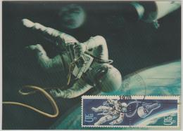 Etats Unis Carte Maximum  834-835 Conquete De L'Espace - Maximumkarten (MC)
