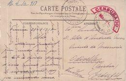FRANCE : GUERRE . EN FM . CP . CORPS EXP PORTUGAIS . EN FM . CENSUREE . 1917 . . - Marcofilia (sobres)