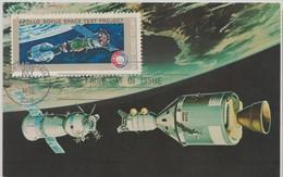 Etats Unis Carte Maximum  1060 Apollo Soyouz - Maximumkarten (MC)