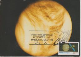 Etats Unis Carte Maximum  1984 Vénus Mariner 2 - Maximumkarten (MC)