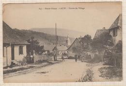 8AK623 LAUW ENTREE DU VILLAGE   2 SCANS - France
