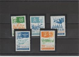 Corée Du Sud Année 1968 Armée Série 511-515 Neuf** MNH - Corée Du Sud