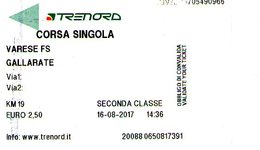 B 1789 - Trenord Varese Gallarate - Railway