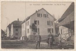 8AK624 Pfetterhausen , Un Coin Du Village   2 SCANS - France