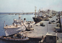 REF.HC . CPM . CHYPRE . CYPRIUS 77 . THE FAMAGUSTA HARBOUR - Cyprus