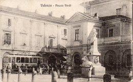Alessandria - Valenza Po - Piazza Verdi - Fermata Tram - Fp Vg1918 - Alessandria