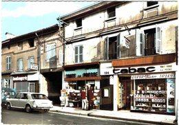 Carte Postale Ancienne De MIRIBEL-Grande Rue - France