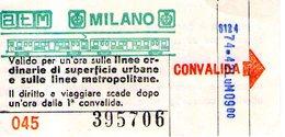 B 1791 - ATM Milano - Tramways