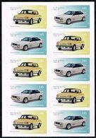 Bund 2018, Michel# 3378 - 3379 ** Autos: Wartburg / Audi Selbstlebend Markenset - [7] República Federal
